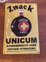 Az eredeti Zwack Unicum poszter 1910-ből.